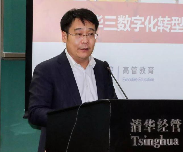 新华三集团联席总裁王景颇发表致辞